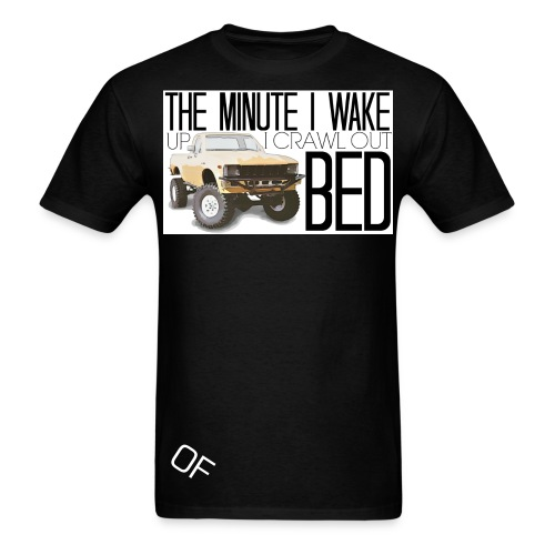 Crawl out of Bed - Men's T-Shirt