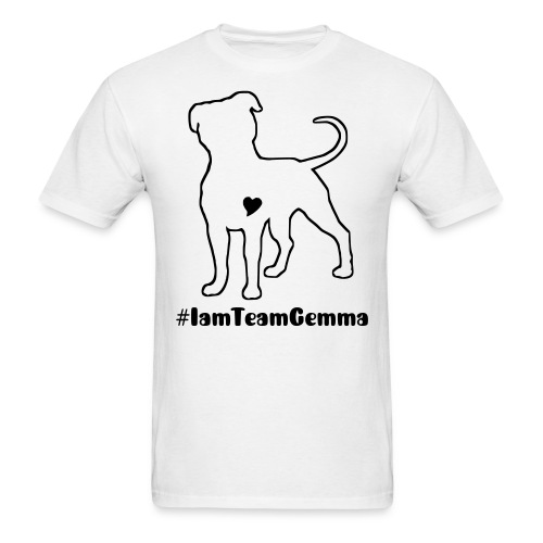#IamTeamGemma - Men's T-Shirt