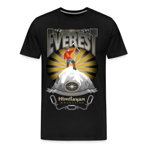 EVEREST - THE MOST DANGEROUS PLACE ON EARTH - Men's Premium T-Shirt