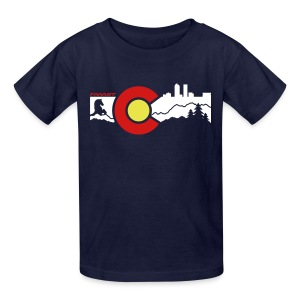 CO Skyline - Kids' T-Shirt