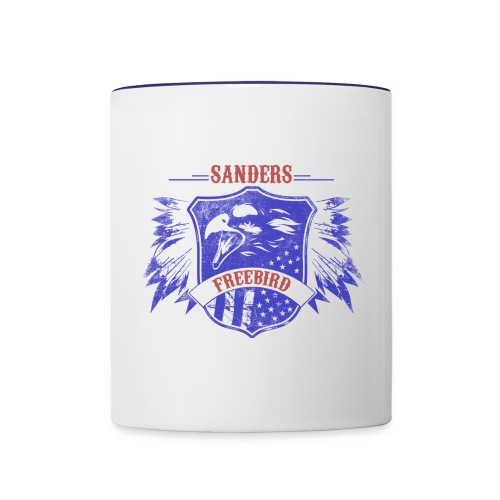 BirdieSanders Freebird Coffee Mug - Contrast Coffee Mug