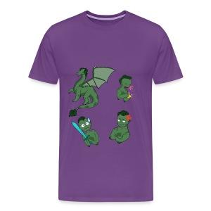 IxoNaut - Sprites - Men's Premium T-Shirt