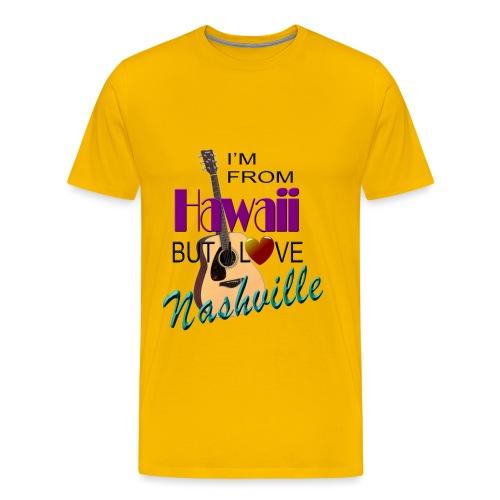 Love nashville from hawaii men 39 s t shirts t shirt t for Hawaiian design t shirts