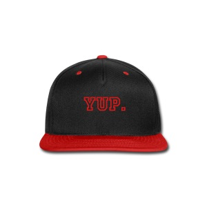 Hypoactive TV Flatbill Hat - Snap-back Baseball Cap