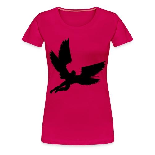 BHS Angel Black F - Women's Premium T-Shirt