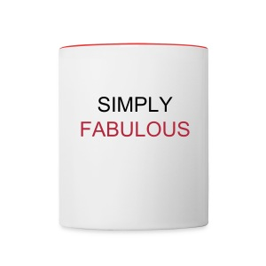 SIMPLY FABULOUS Teagontro TV Mug - Contrast Coffee Mug