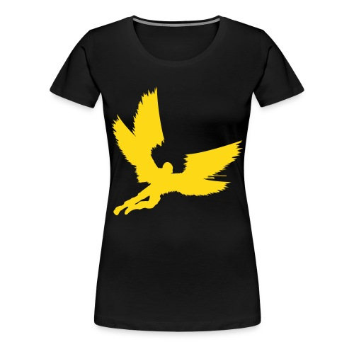 BHS Angel Yellow F - Women's Premium T-Shirt