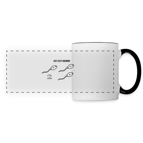 The Spermies - Just Keep Swimmin' Coffee Cup - Panoramic Mug