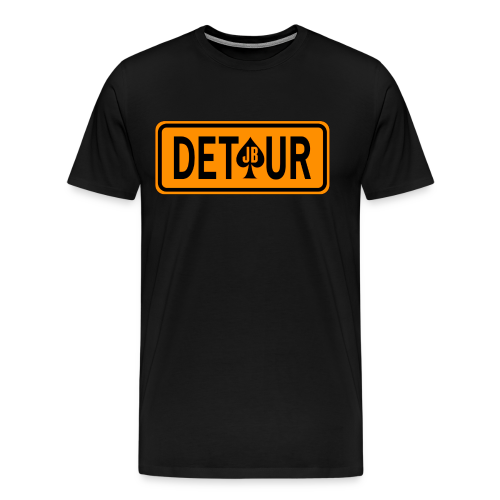 DETOUR - James Blazer's Final Detour Authentic T-Shirt (Immortality '16) - Men's Premium T-Shirt