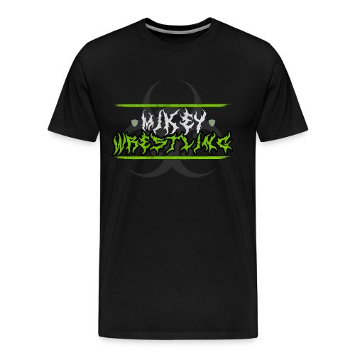 Mikey Wrestling Logo Authentic T-Shirt  - Men's Premium T-Shirt
