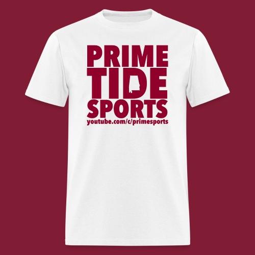 White Prime Tide Sports T-Shirt - Men's T-Shirt