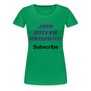 Women's subscribe shirt - Women's Premium T-Shirt