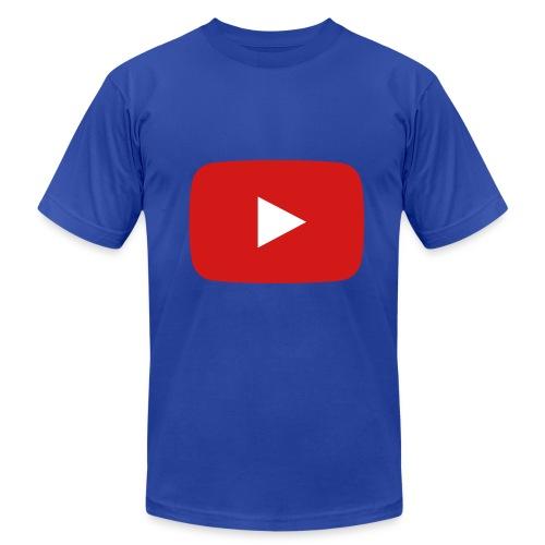 Mens Youtube Shirt - Men's  Jersey T-Shirt