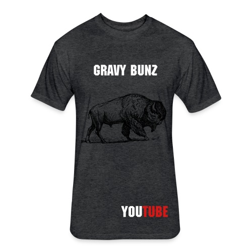 Gravy Bunz T - Fitted Cotton/Poly T-Shirt by Next Level