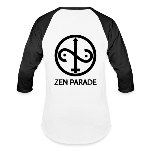 ZP Front Face Original Classic White Body Baseball Tee - Baseball T-Shirt