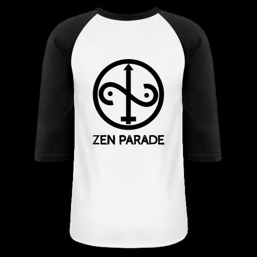 ZP Front Face Original Classic White Body Baseball Tee - Baseball T-Shirt