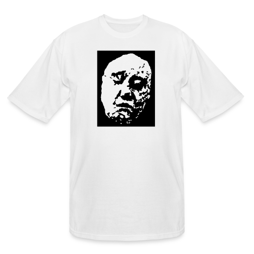 ZP Front Face Original Classic White Men's Tall Tee - Men's Tall T-Shirt