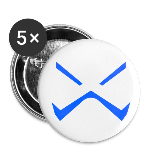 Angry X Button - Small Buttons