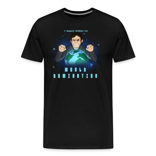 [NEW] World Domination - Men's Premium T-Shirt