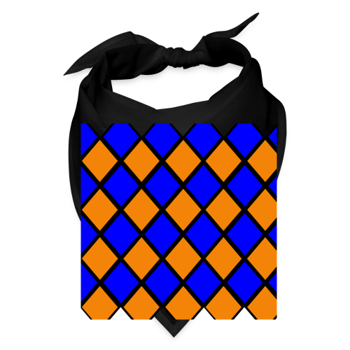 Orange n' Blue Bandana - Bandana