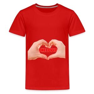 Pure ''One love shirt'' - Kids' Premium T-Shirt