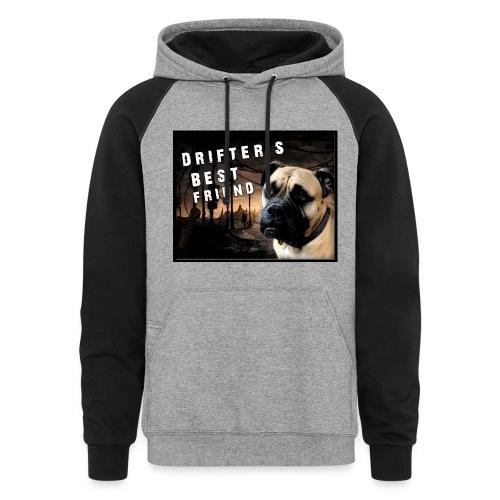 Drifters Best Friend Hoodie - Colorblock Hoodie