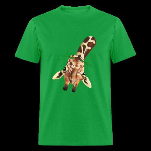 Upside down Giraffe - Men's T-Shirt