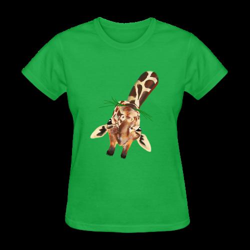 Upside down Giraffe - Women's T-Shirt