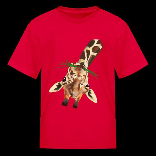 Upside down Giraffe - Kids' T-Shirt