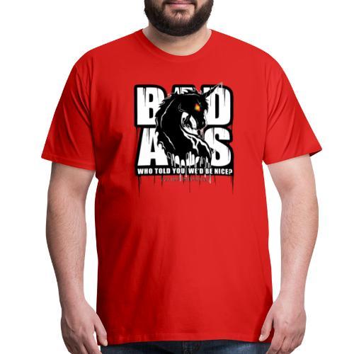 Bad Ass Unicorn - Men's Premium T-Shirt