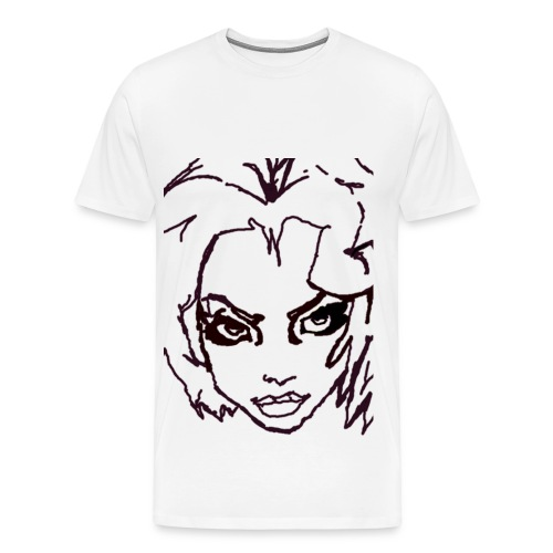 Girl  - Men's Premium T-Shirt