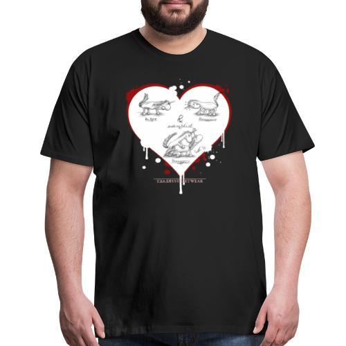 Hornyporn - Men's Premium T-Shirt