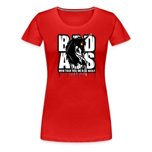 Bad Ass Unicorn - Women's Premium T-Shirt