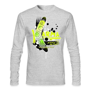 Karma - Men's Long Sleeve T-Shirt by Next Level