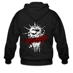 (R)EVOLUTION - Men's Zip Hoodie