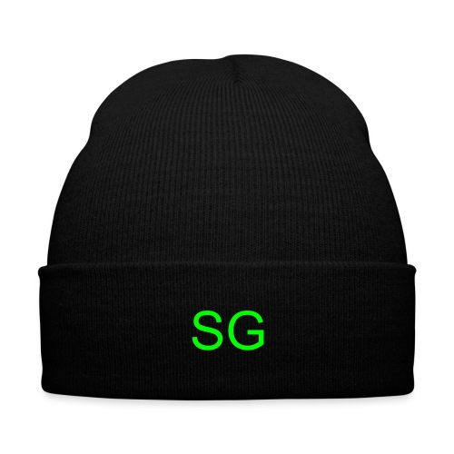 SG Toque  - Knit Cap with Cuff Print