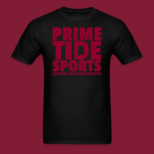 Black Prime Tide Sports T-Shirt - Men's T-Shirt