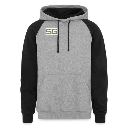 SG sweater  - Colorblock Hoodie