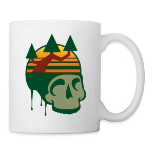 Graphite Skull Mug - Coffee/Tea Mug