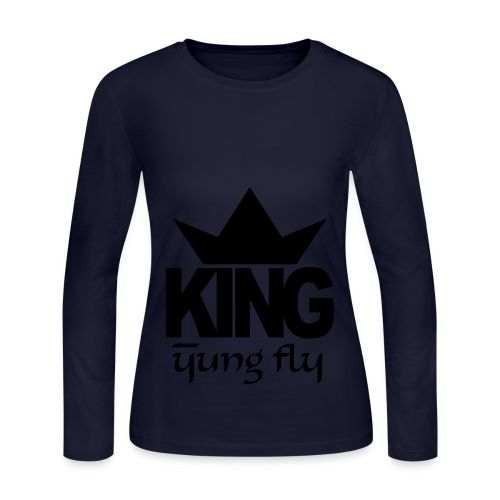 King Yung Fly - Women's Long Sleeve Jersey T-Shirt