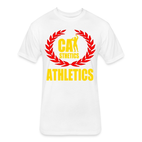 Men's Ultra Premium Athletics T-shirt - Fitted Cotton/Poly T-Shirt by Next Level