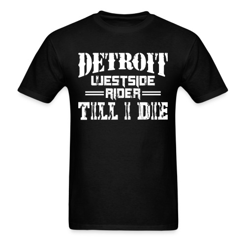 Detroit Westsider Tee - Men's T-Shirt