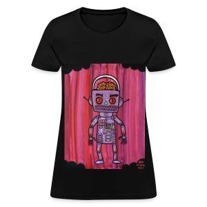 Brain Robot - Women's T-Shirt