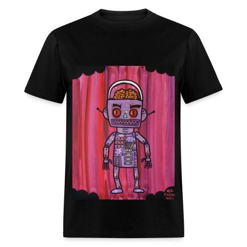 Brain Robot - Men's T-Shirt