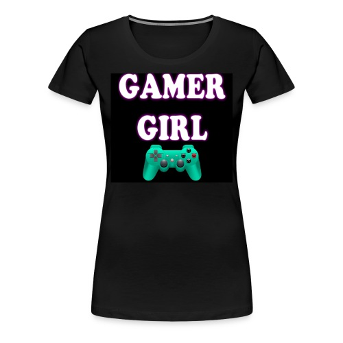 gamer girl t-shirt - Women's Premium T-Shirt