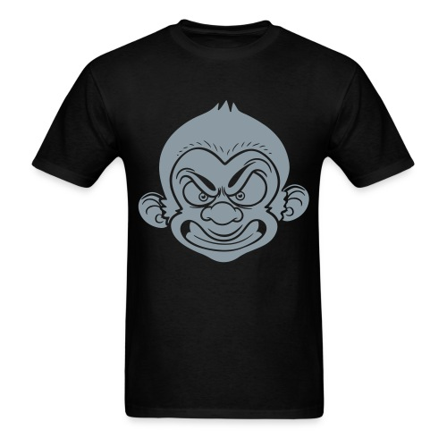 Dapp'd Monkey Gunmetal Silver - Men's T-Shirt