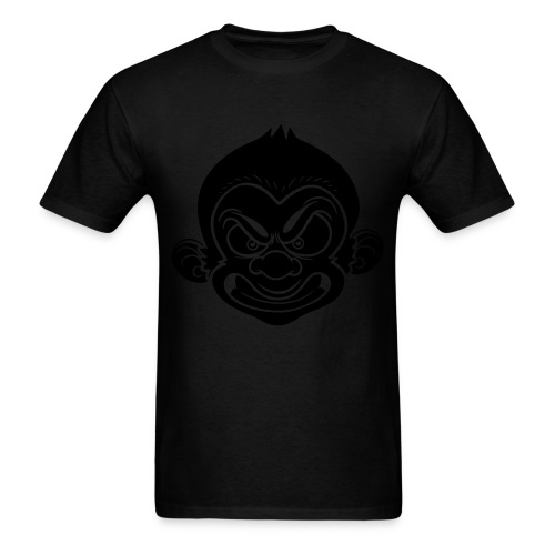 Dapp'd Monkey Double Black - Men's T-Shirt