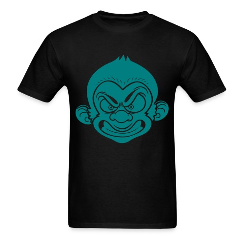 Dapp'd Monkey Teal - Men's T-Shirt