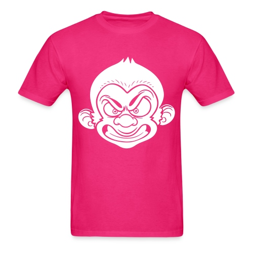 Dapp'd Monkey White - Men's T-Shirt