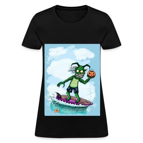Surfing Balrok - Women's T-Shirt